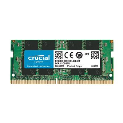 MEMORIA DDR4 16GB CRUCIAL / SODIMM / 2666 MHZ / PC4 21300 CL19