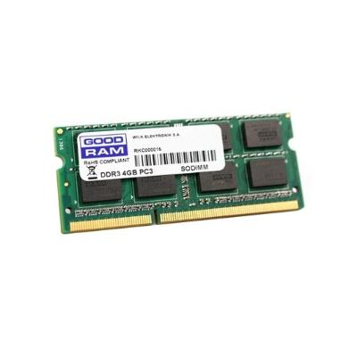 MODULO S/O DDR3 4GB PC1333 GOODRAM GR1333S364L9S/4G / CL19