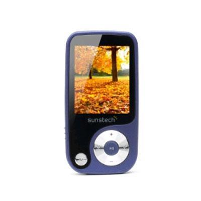 "MP4 4GB SUNSTECH THORN 4GB AZUL 1,8"" REPRODUCTORES MP3/MP4/MP5"
