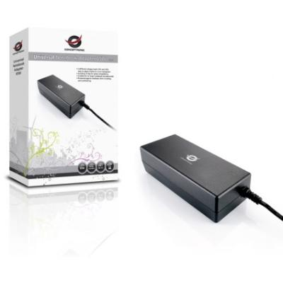 NOTEBOOK ADAPTER 65W 15V Y 19V (TRANSFORMADOR UNIVERSAL) INCLUYE 12 TIPS