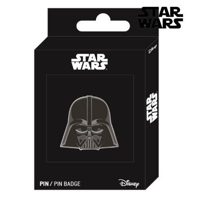PIN DARTH VADER STAR WARS METAL NEGRO