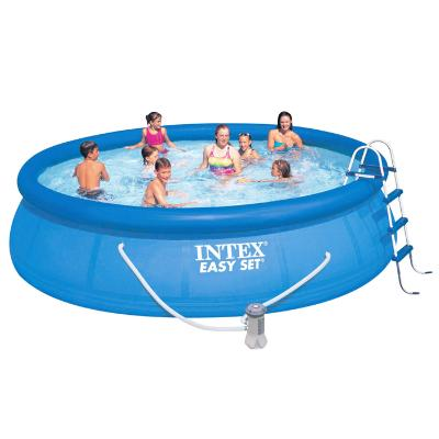 PISCINA INTEX CON DEPURADORA EASY SET 457X107CM 28166  PISCINAS HINCHABLES