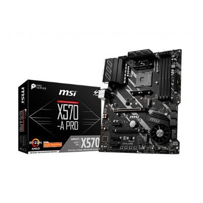 PLACA BASE MSI AM4 X570-A PRO