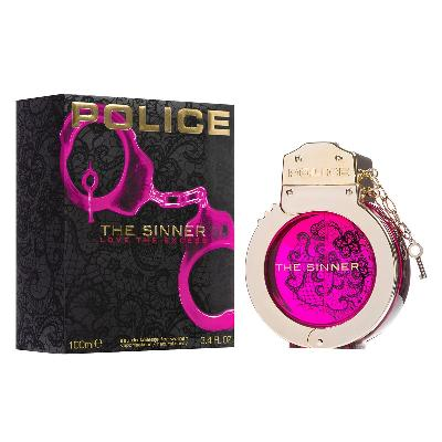 POLICE THE SINNER LOVE THE EXCESS WOMAN EAU DE TOILETTE 100ML VAPO.  PERFUMES