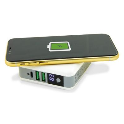 POWER BANK INALáMBRICO TRAVELLING CHARGING 4IN1 6700 MAH BLANCO