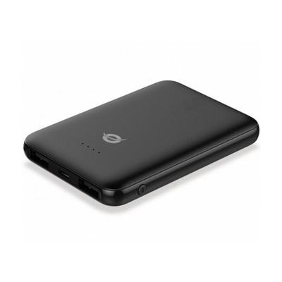 POWERBANK CONCEPTRONIC 5000MAH 2 PUERTOS USB (5V 2A) COLOR NEGRO