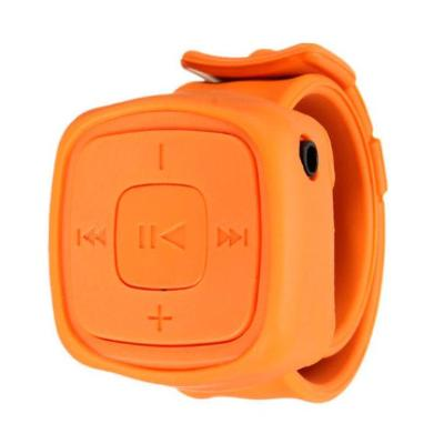 RELOJ MP3 SLAP NARANJA REPRODUCTORES MP3/MP4/MP5
