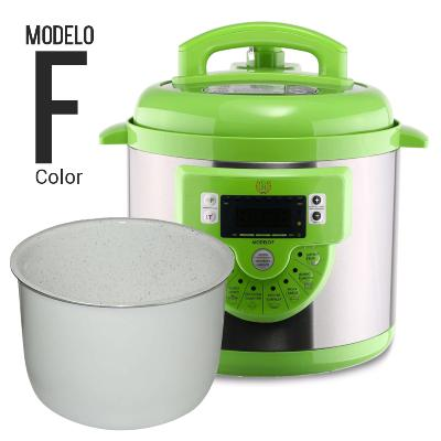 ROBOT DE COCINA OLLA GM F COLOR VERDE + CUBETA EXCELLENCE COLOR OLLAS PROGRAMABLES