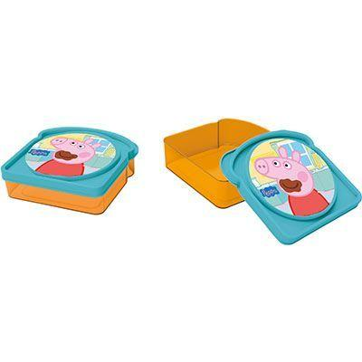 SANDWICHERA DE PLASTICO VALUE PEPPA PIG (12/24) SANDWICHERAS