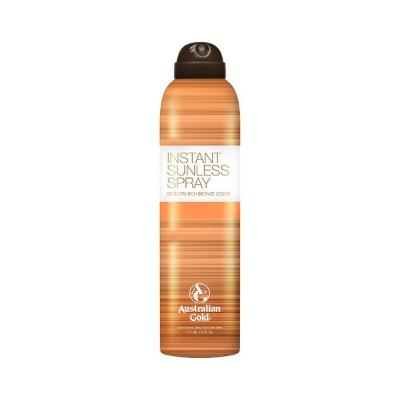 SPRAY AUTOBRONCEADOR SUNLESS INSTANT AUSTRALIAN GOLD (177 ML)