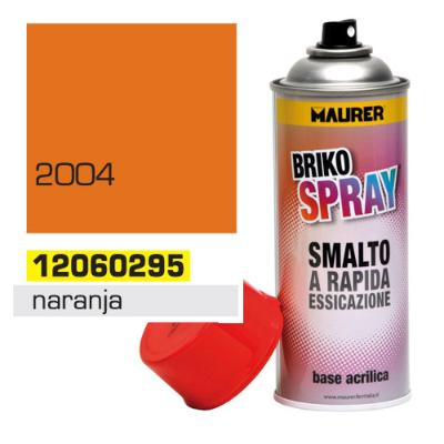 SPRAY MAURER NARANJA PURO          400ML