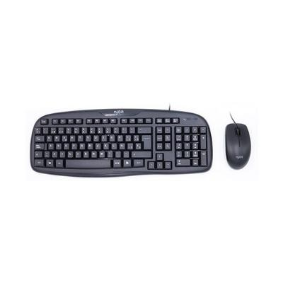 TECLADO+RATON NJOIT NJKEYMOUSE MULTIMEDIA NEGRO USB / IMPER