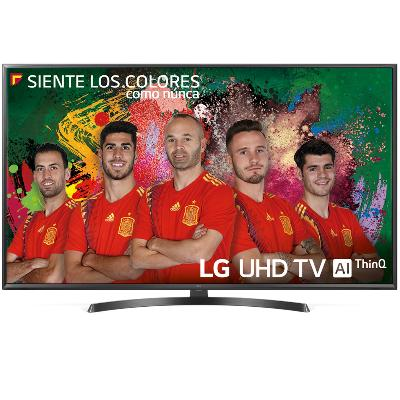 "TV LG 49"" LED 4K UHD/ 49UK6470PLC/ HDR10/ 20W/ DVB-T2/C/S2/ SMART TV/ HDMI/ USB"