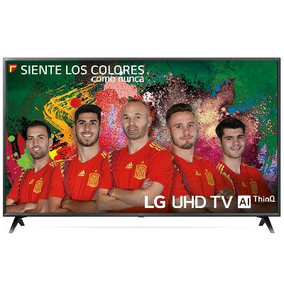 "TV LG 55"" LED 4K UHD/ 55UK6300PLB/ HDR/ 20W/ DVB-T2/C/S2/ SMART TV/ HDMI/ USB"