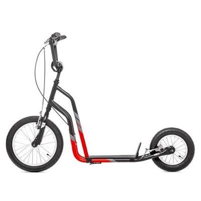 YEDOO CITY SCOOTER BLACK RED ACCESORIOS Y REPUESTOS PARA PATINAR