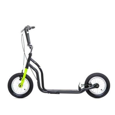 YEDOO OX NEW SCOOTER BLACK GREEN PATINETES