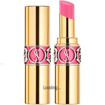 YVES SAINT LAURENT LABIAL ROUGE VOLUPTE SHINE 52 TRAPEZE PINK