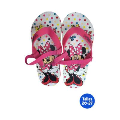ZAPATILLAS PLAYA INFANTILES MINNIE CON GOMA CHANCLAS DE PLAYA Y PISCINA
